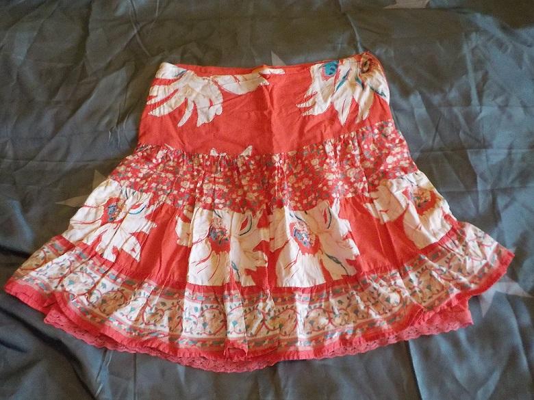 4161e7047a Červená lolita sukně